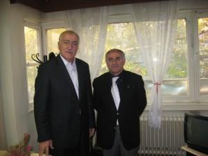 Yurt Partisi Genel Başkanı Saadettin Tantan - Yunus Zeyrek.